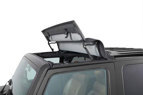 Bestop 52453-17 Sunrider in Twill for Factory Hardtop for Jeep Wrangler JK 2007-2018