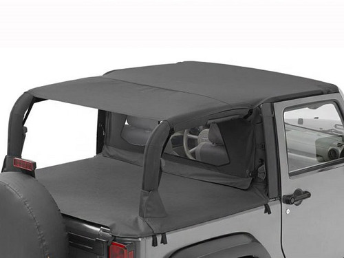 Bestop Header Safari Style Bikini Top for Jeep JK 2 Door 2010-2016