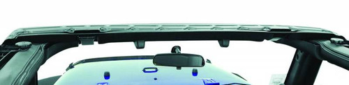 Bestop Factory Style Windshield Channel Mounted on Jeep Wrangler JK