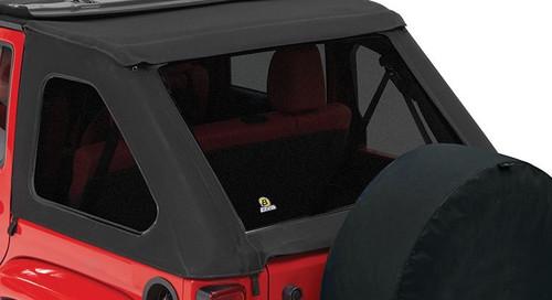 Bestop Tinted Window Kit for TrekTop NX Mounted on JK 4 Door