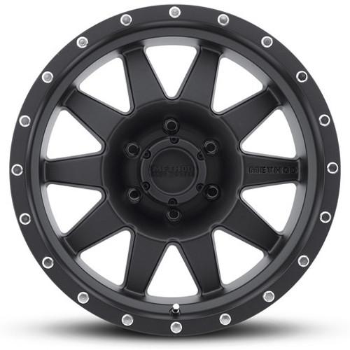 The Standard Wheel in Matte Black Finish