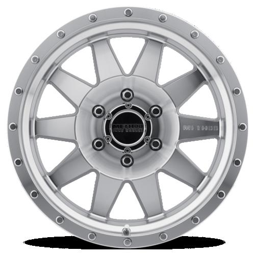 Method Race Wheel The Standard Wheel- Machined/Clear Coat-  17x8.5 | 5on5