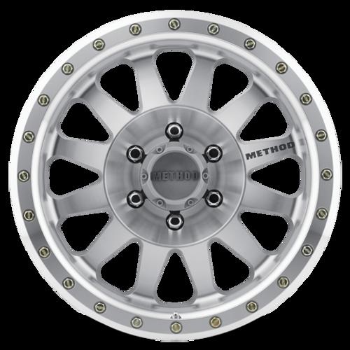 Method Race Wheel Double Standard Wheel- Machined/Clear Coat Wheel