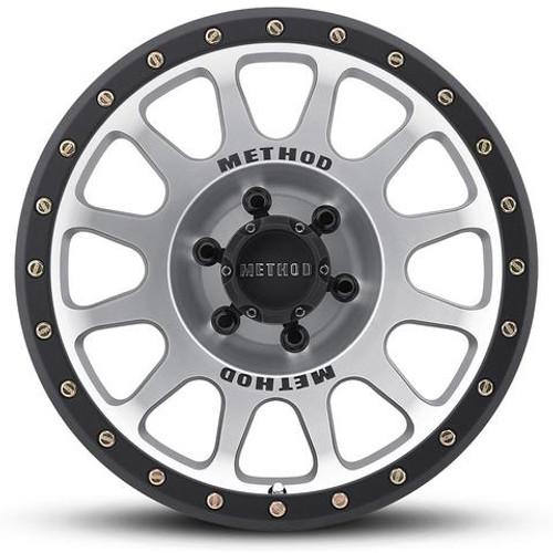 Method Race Wheel NV- Matte Black Machined Face Wheel- 17x8.5 | 5 on 5