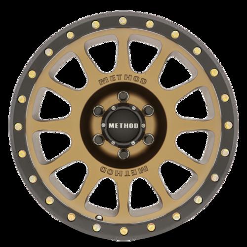 Method Race Wheel NV- Bronze Wheel- 17x8.5   5 on 5