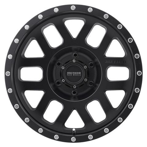 Method Race Wheel MR306 Mesh Wheel- Matte Black- 17x8.5 | 5 on 5
