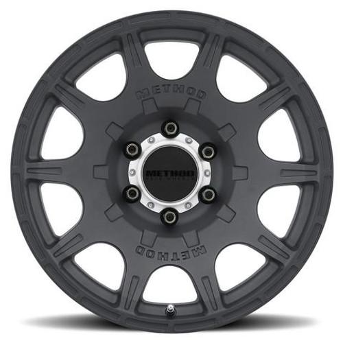 Method Race Wheel MR308 Roost Wheel- Matte Black