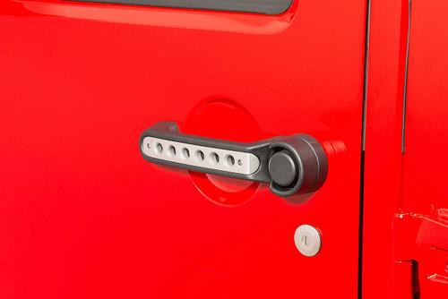Drake Offroad Door and Tailgate Handle Inserts- 4 Door (Wrangler JK 2007-2018)