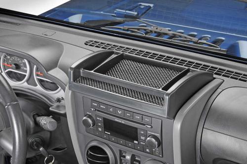 Drake Offroad Upper Dash Console Tray (Wrangler JK 2007-2010)