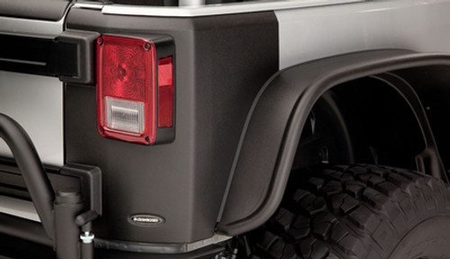 Bushwacker TrailArmor Rear Corner Guards- 2 Door (Wrangler JK 2007-2018)