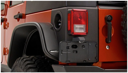 Bushwacker TrailArmor Rear Corner Guards- 4 Door (Wrangler JK 2007-2018)