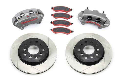 TeraFlex 4303420 Big Brake Kit with Slotted Rotors for Jeep Wrangler JK 2007-2016