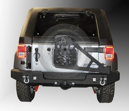 DV8 Offroad TC-6 Tire Carrier (Wrangler JK 2007-2018)