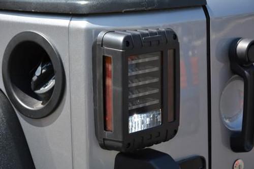 DV8 Offroad Horizontal LED Tail Light- Pair (Wrangler JK 2007-2018)
