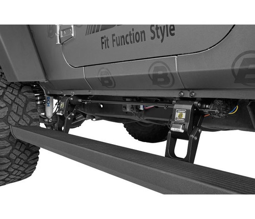 Bestop Powerboard NX Automatic Running Boards- 2 Door (Wrangler JK 2007-2018)