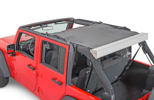 M.O.R.E. Retractable Roller Sun Shade (Wrangler JK 2007-2018)