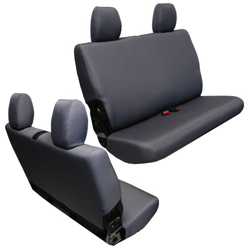 Bartact Base Line Performance Rear Bench Seat Covers- 2 Door (Wrangler JK 2013-2018)