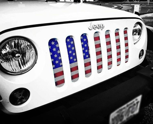 Under The Sun Inserts UTS-OG Old Glory American Flag Insert for Jeep Wrangler JK 2007-2017