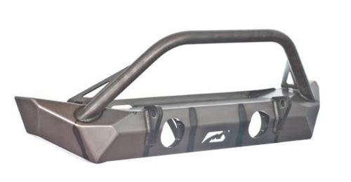 Motobilt MB1025-S Hammer Front Bumper with Stinger and Fogs for Jeep Wrangler JK 2007-2017