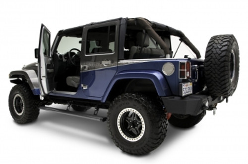 AMP Research 75121-01A Power Step for Jeep Wrangler JK 2 Door 2007-2018