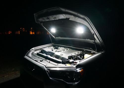 KC Hilites KCH 355 Cyclone LED 2-Light Universal Under Hood Lighting Kit