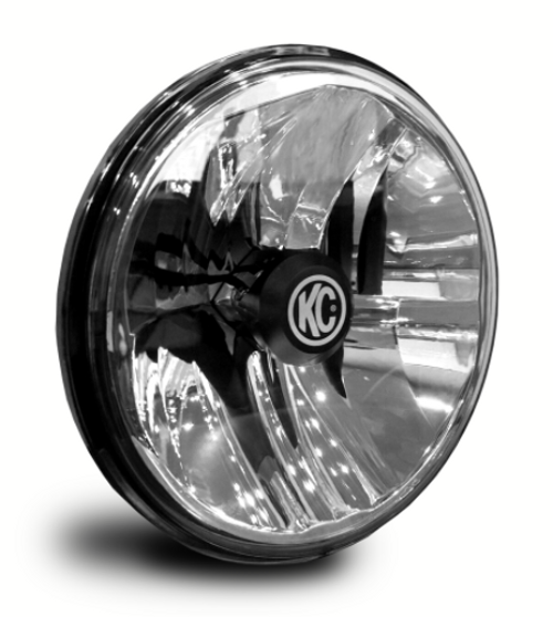 """KC Hilites 42351 Gravity LED 7"""" Round Headlight Pair-DOT for Jeep Wrangler TJ, LJ & JK 1997-2018"""