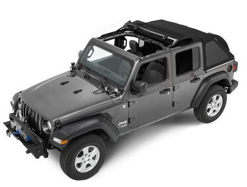 Bestop 56863-35 TrekTop NX Soft Top for 4 Door Jeep Wrangler JL 2018+
