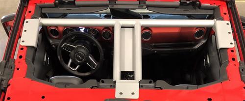 Rock Hard 4x4 RH-90700 Bolt-In Ultimate Sport Cage Brace Kit for Jeep Wrangler JL 2018+