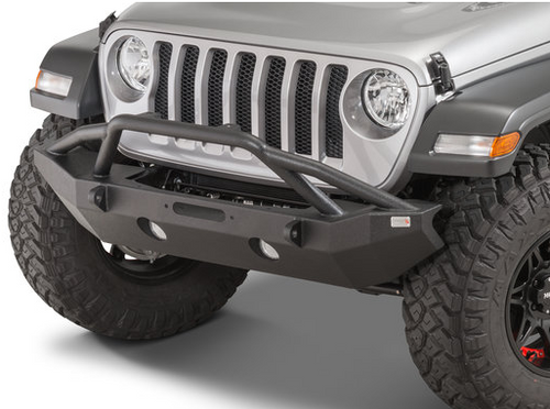 Fishbone Offroad FB22088 Mid-Width Front Bumper for Jeep Wrangler JL 2018+