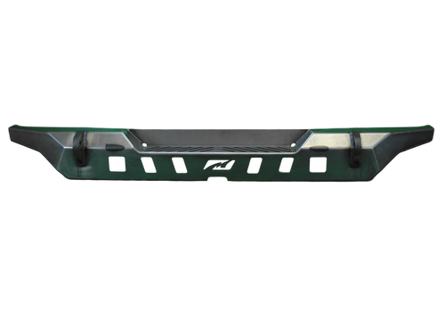 Motobilt MB1092 Crusher Rear Bumper w/ Spare Cut Out & Light Mounts for Jeep Wrangler JL 2018+
