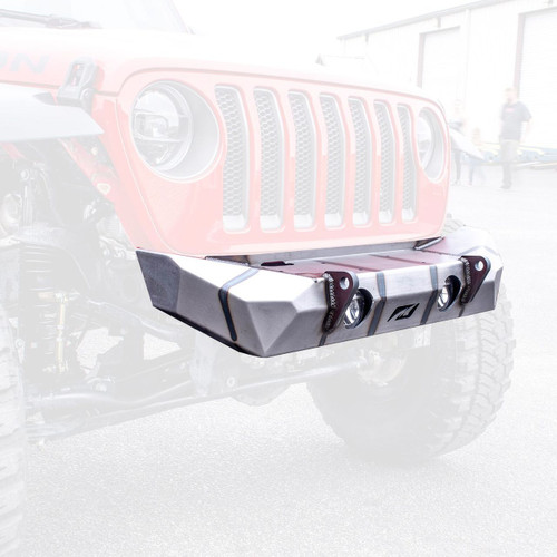 Motobilt MB1090F Front Hammer Series Bumper for Jeep Wrangler JL 2018+