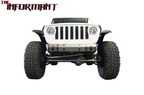 VKS Fabrication The Informant Front Winch Bumper for Jeep Wrangler JL 2018+