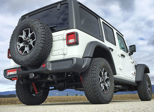 Flowmaster 817803 Outlaw Dual Axle Back Exhaust Kit for Jeep Wrangler JL 3.6L 2018+