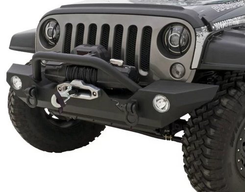 Rampage Products 99306 Rock Rage Front Bumper for Jeep Wrangler JK & JL 2007+