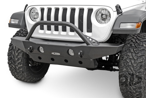 LoD Offroad JFB1813 Destroyer Series Mid Width Front Bumper with Bull Bar for Jeep Wrangler JL 2018+