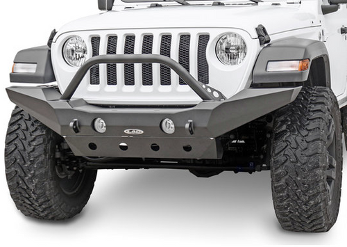 LoD Offroad JFB1823 Destroyer Series Full Width Front Bumper with Bull Bar for Jeep Wrangler JL 2018+