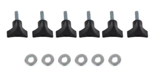 Kentrol 70008 Quick Release Hardtop Screws for Jeep Wrangler JK & JL 2007+