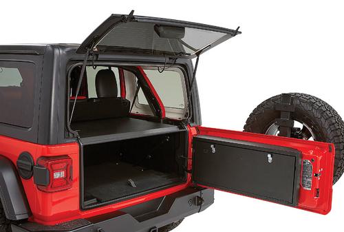 Tuffy 349-01 Tailgate Lock Box for Jeep Wrangler JL 2018+