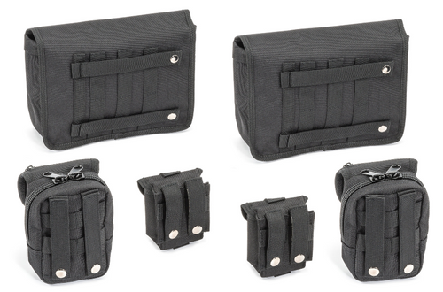 Rugged Ridge 12113.01 MOLLE Storage Bag System for Jeep Wrangler JL & Gladiator JT 2018+