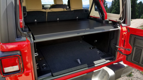 Tuffy 345-01 Security Deck Enclosure for Jeep Wrangler JL 4 Door 2018+
