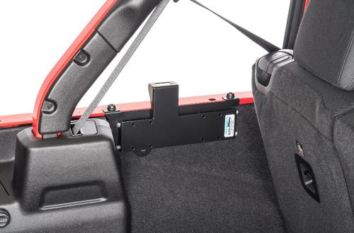 M.O.R.E. ARB18 Dual Compressor Mounting Bracket for Jeep Wrangler JL 4 Door 2018+