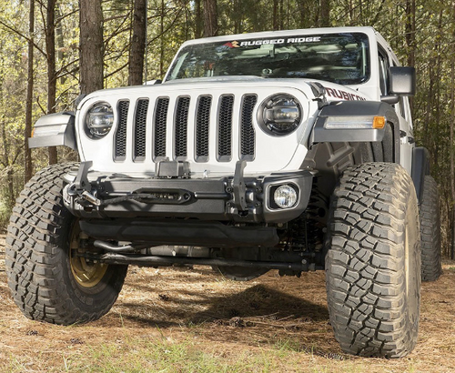Rugged Ridge 11549.04 Arcus Front Bumper for Jeep Wrangler JL & Gladiator JT 2018+