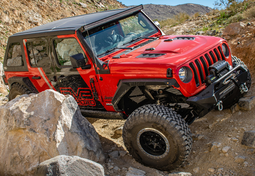 DV8 Offroad HDMBJL-TA Replica Rubicon Hood for Jeep Wrangler JL & Jeep Gladiator JT 2018+