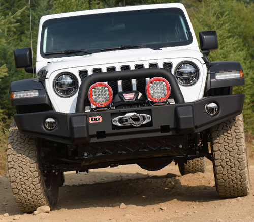 ARB 3450440 Deluxe Classic Front Bumper for Jeep Wrangler JL 2018+