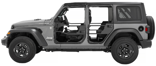 Bestop 51740-01 Element Doors for Jeep Wrangler JL & Gladiator JT 2018+