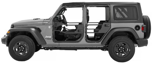 Bestop 51740-01 Element Doors for Jeep Wrangler JL & Gladiator JT 2018+