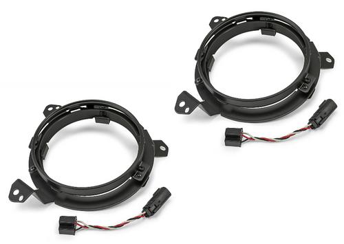 DV8 Offroad BCABJL-01 Headlight Adapter Kit for Wrangler JL & Gladiator JT 2018+