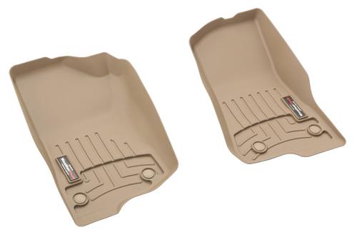 WeatherTech 4513131 DigitalFit Front Floor Liners for Jeep Wrangler JL & Gladiator JT 2018+
