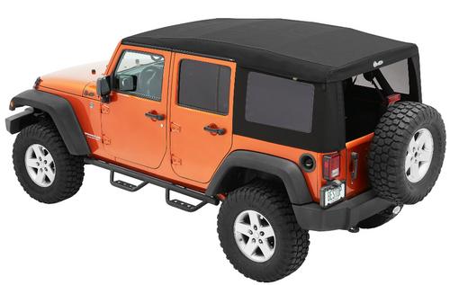 Bestop 54724-17 Supertop Ultra for Jeep Wrangler JK 4 Door 2007-2018