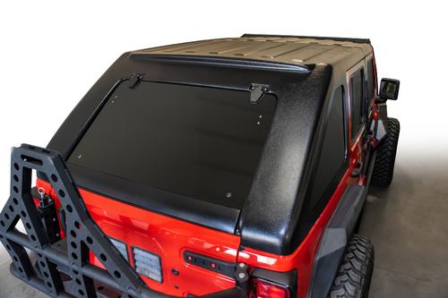 DV8 Offroad HTJL02-B Razor Fastback Hardtop for Jeep Wrangler JL 4 Door 2018+